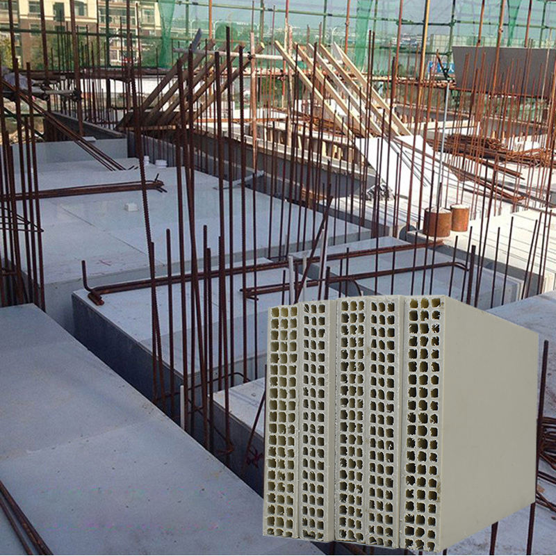 China make PP hollow core plastic building concrete frameworks for construction