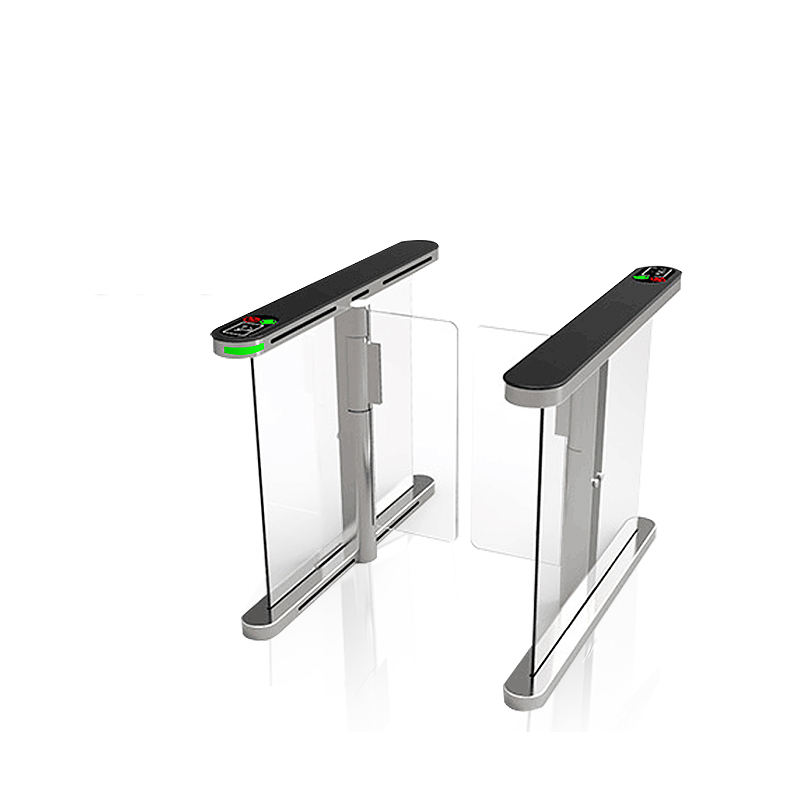 Kartu RFID Reader Barcode Scanner Sidik Jari Pengenalan Wajah Speed Gate Swing Barrier Turnstile Gate