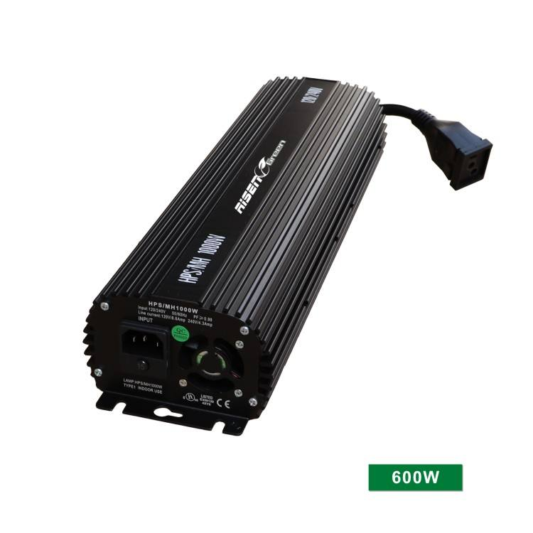 600W HPS MH Digital Electronic Dimmable Ballast Grow Light