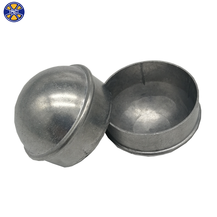 China Supplier Aluminum 2 3/8 Round Fence Post Cap For Chain Link Fence