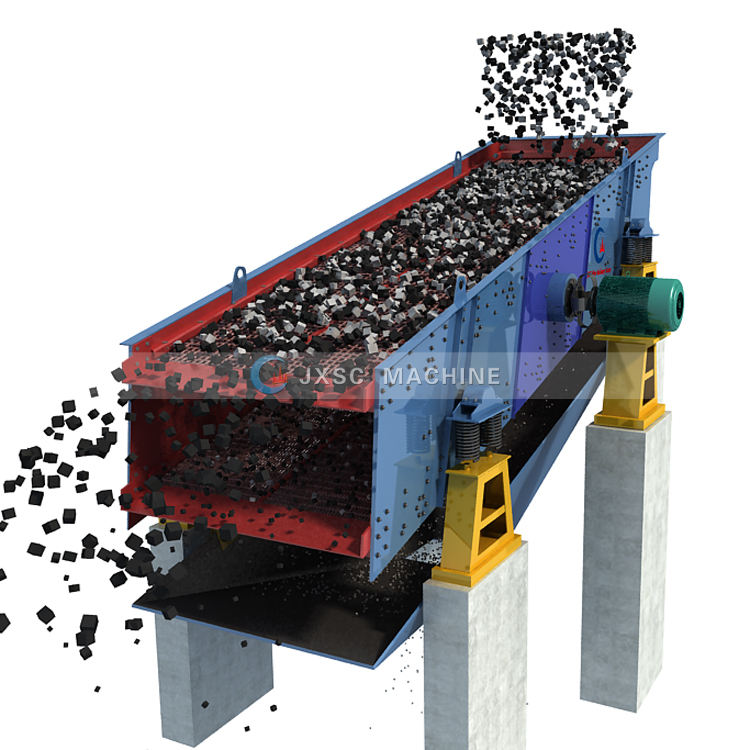 New Design Gold Separating Sieve Machine Rounding Sieves Mini Soil Screener Double Deck Dewatering Vibrating Screen