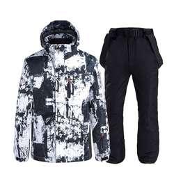 High quality hot sale winter outdoor sport waterproof men ski jacket Snowsuit Windproof Waterproof Warm Couple Skiing Suit