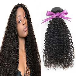 Trendy hair product 100 virgin Human Kinky Curly Hair Free Sample Mink Wholesale Natural Color Hair Bundles for ladies