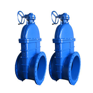 Hot Sale Bypass Ductile Iron Bs5163 Soft Seal Gate Valve