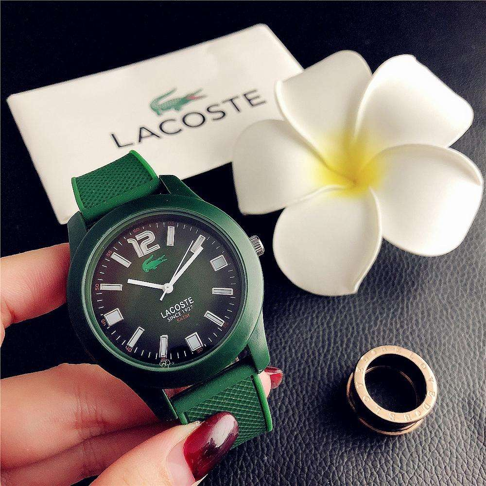 2019 New Silicone Band Watch Wholesale Fashion Quartz Rose Gold Female Watch Various Colors