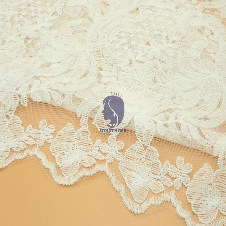 Factory Direct Sales indian cotton embroidery fabric ribbon lace for bra Prices
