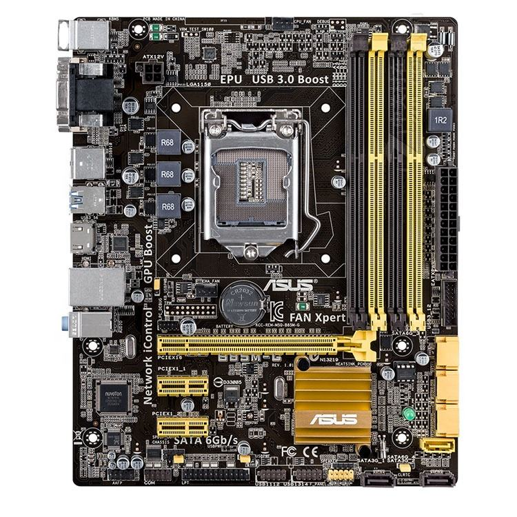 B85M-G <span class=keywords><strong>Motherboard</strong></span> für <span class=keywords><strong>Asus</strong></span> DDR3 mainboard