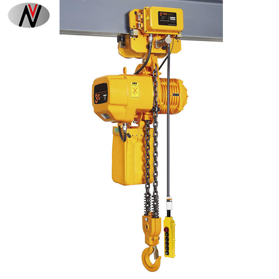 Vision Factory Price Electric Cm 3 Ton Chain Hoist Winch