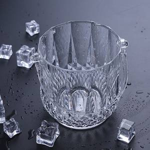 Plastik Es Kecil Ember/Crystal Clear Ice Bucket/Acrylic Ice Bucket