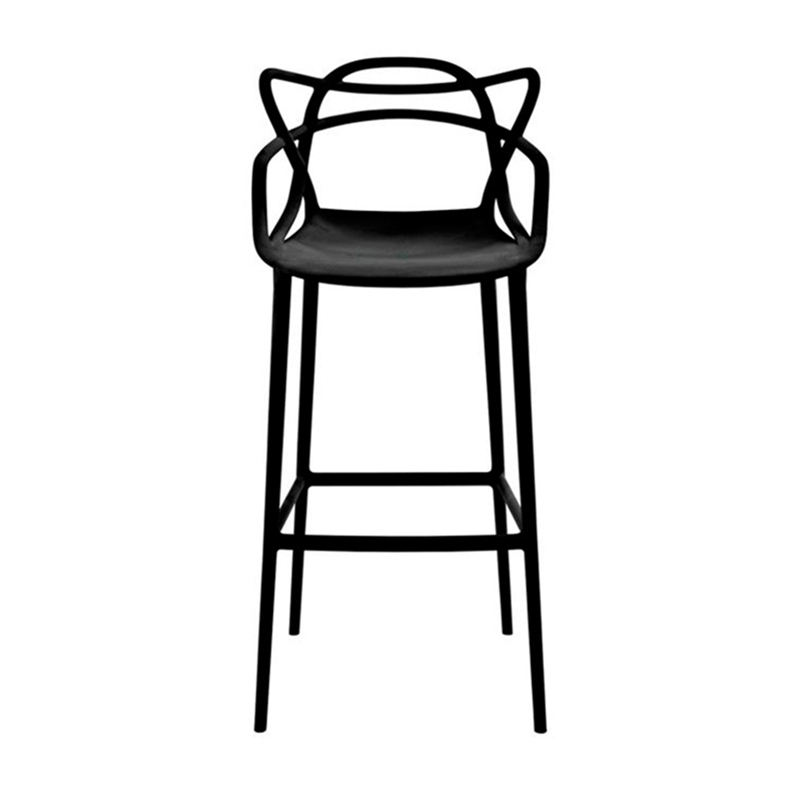 Wholesale Plastic Bar Stool Supplier, Stackable Cheap Modern PP Barstool Chair For Sale