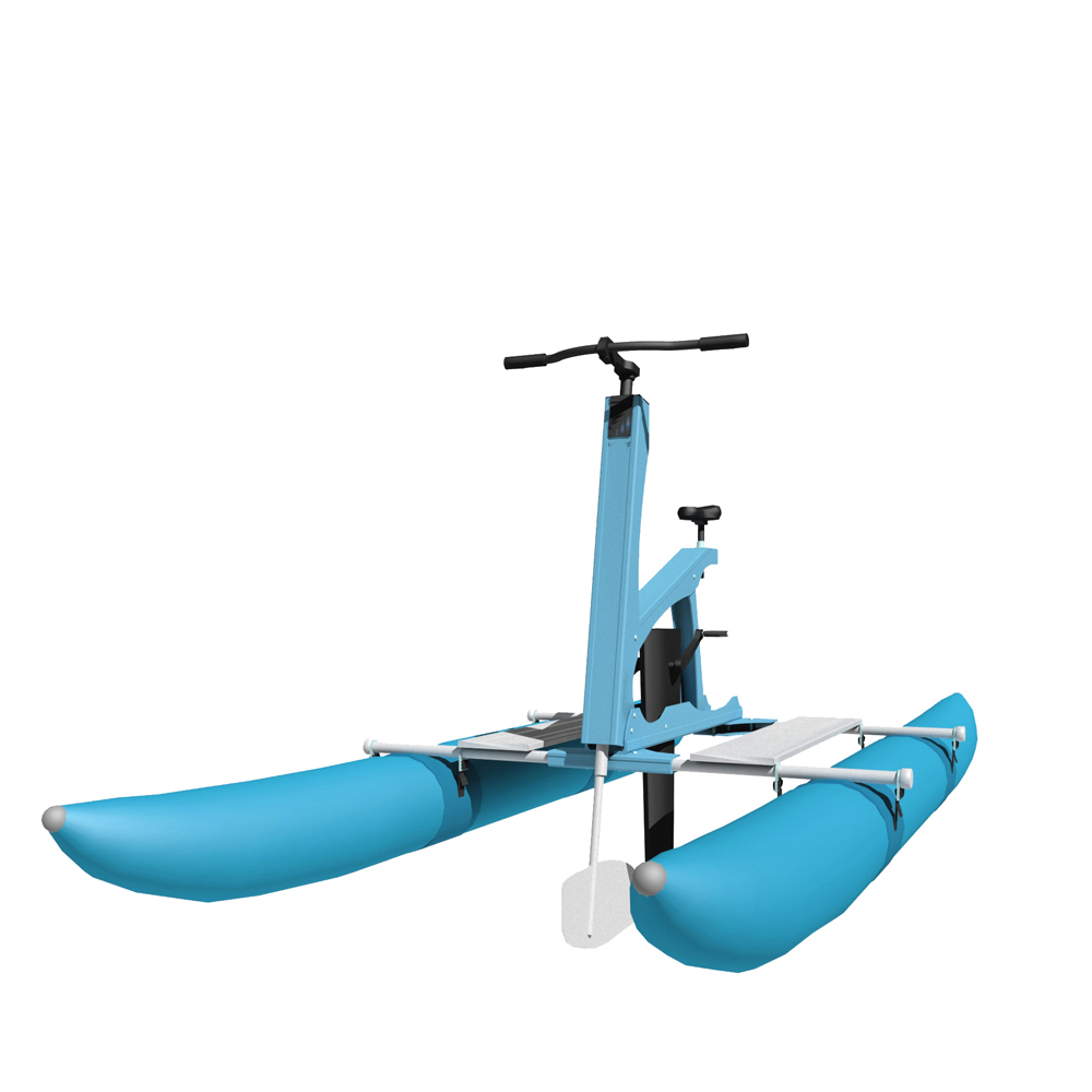 New water bikes sport game product Light Weight Water Bike Floating Pedal Bicycles on lake/sea