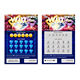 Custom Made Instant Scratch Win Lottery Card With Barcode
