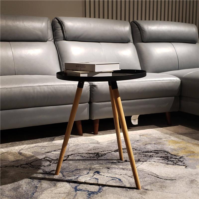 Casual pequeño apartamento minimalista <span class=keywords><strong>moda</strong></span> creativa de madera moderno de Metal mesa de café en <span class=keywords><strong>casa</strong></span>