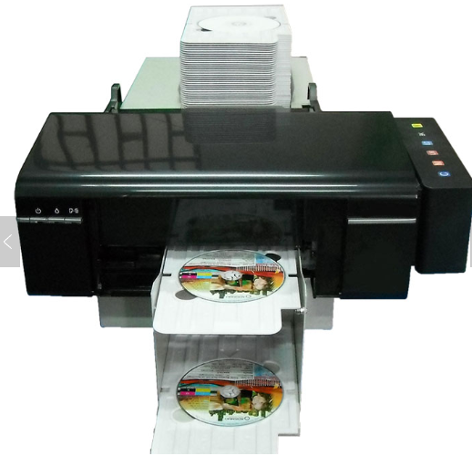 Continuous Print Smart ID Card Printer for Epson L805 PVC Card Printer