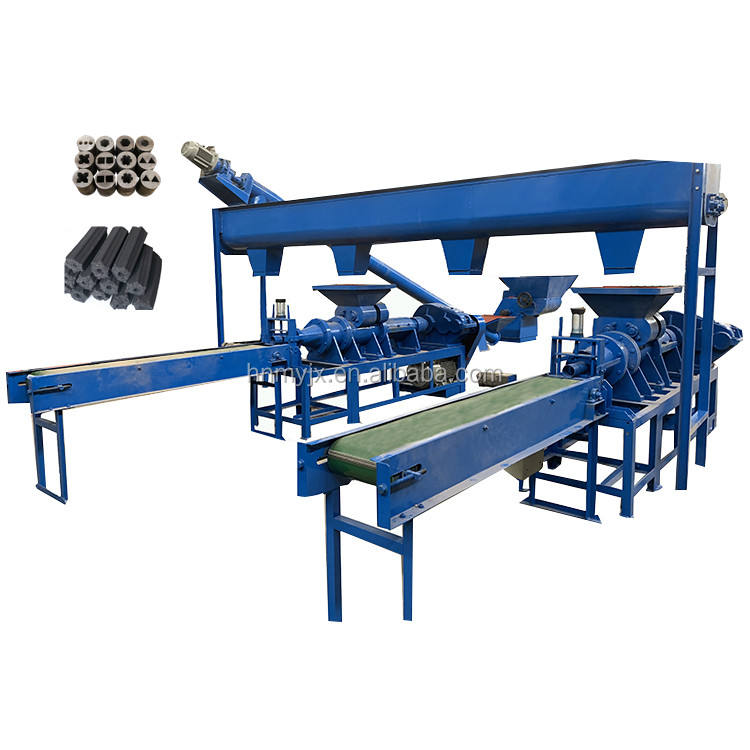 Large discount wholesales coconut charcoal briquette machine/coal and charcoal powder extruder machinery plant