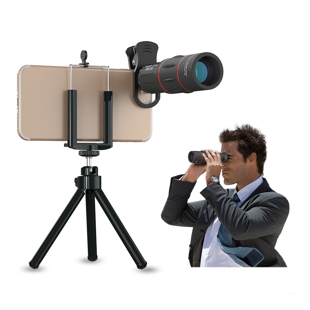 China OEM Factory High Quality Hot Selling 18X Telephoto Optical Zoom Camera Lens Mobile Phone Telescope For Cellphone