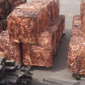 Bales Packaging Copper Wire Scrap 99.9% Purity