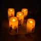 Novelty flameless creative electronic LED candle for church religious Christmas