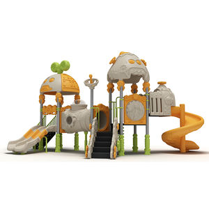 Simple outdoor playground equipment with children slide swing sets toys for adult kids used commercial playground outdoor