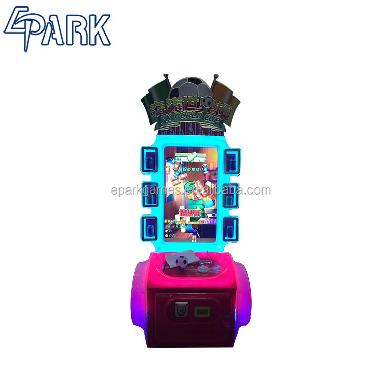 "42""LCD PK world cup redemption video game machine arcade games coin operated games for sale"