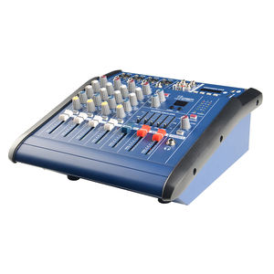 Mixer Audio Mini Suara Digital, Mixer Audio Mini 4 Saluran Usb