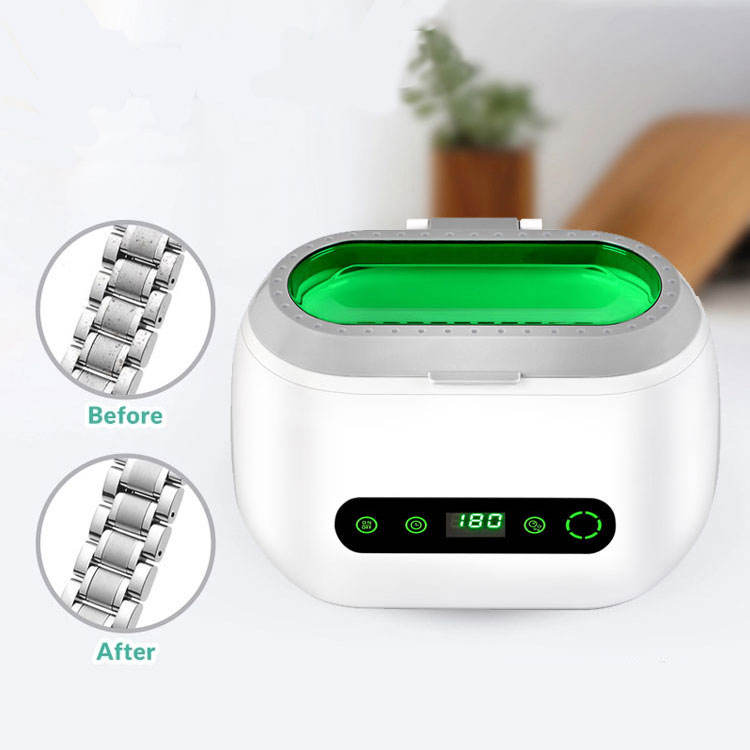 china 600ml Home use small size easy operating ultrasonic cleaning bath for jewellery