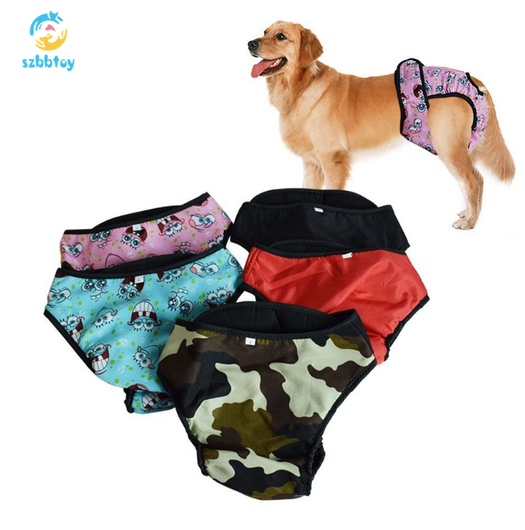 Wholesale repeated cleaning durability female dog physiological pants