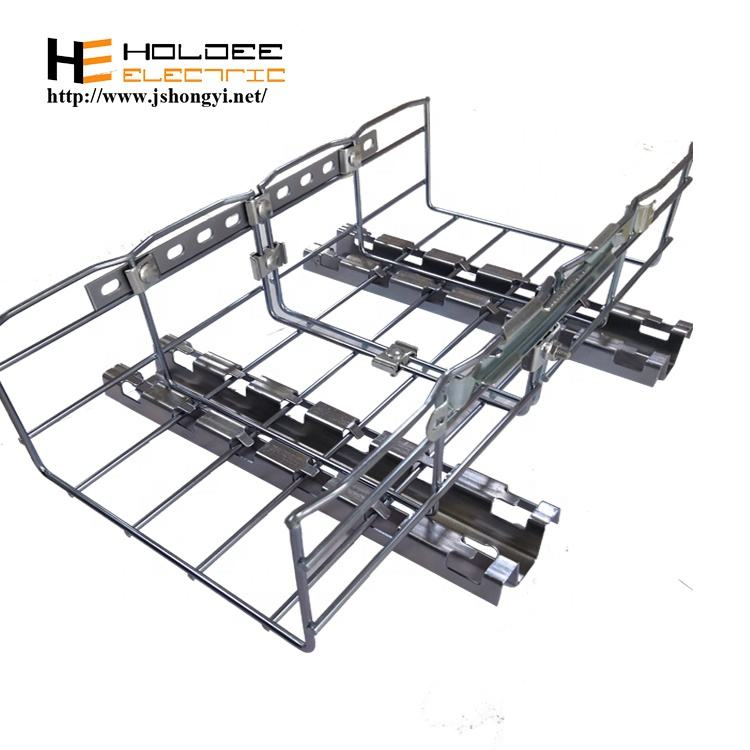 Standard stainless steel 306L material wire mesh baskets cable tray manufacturers with latest technology