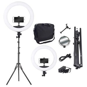 Professional 18inch Makeup Light Ring Dimmable Led Ring Light Kit For Youtube Video 18in Ring Light