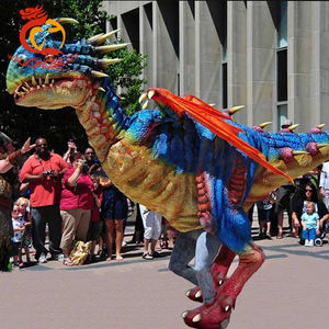 Realistic walking dragon costume for adult