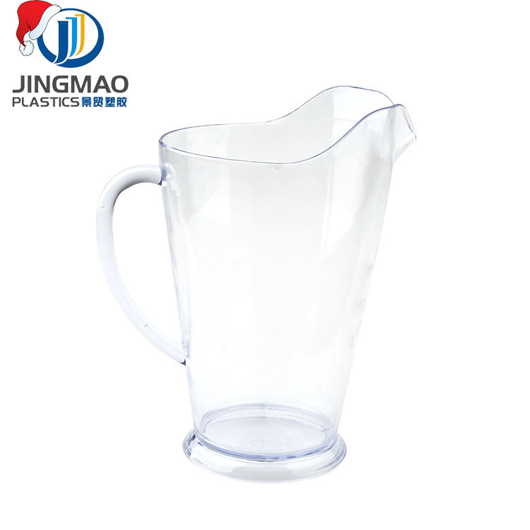 Hot sale OEM Service Clear Beer Plastic water Jug/Pitcher/Pot