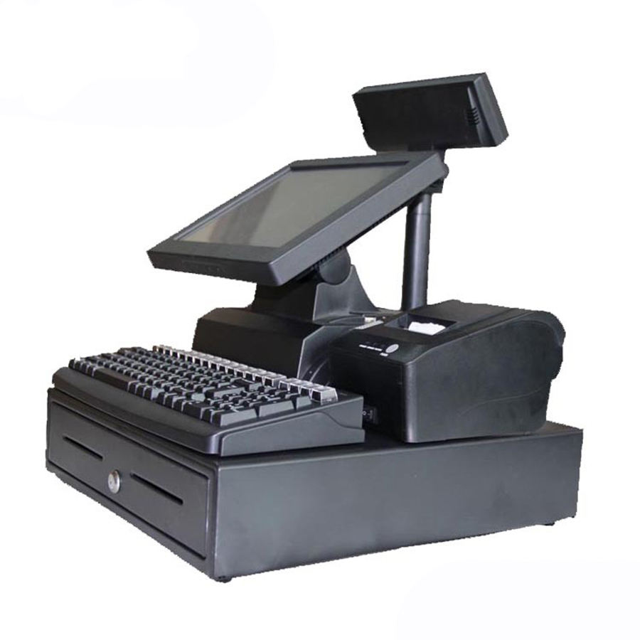 Touch Screen Supermarket Pos Retails Cheap Cash Register