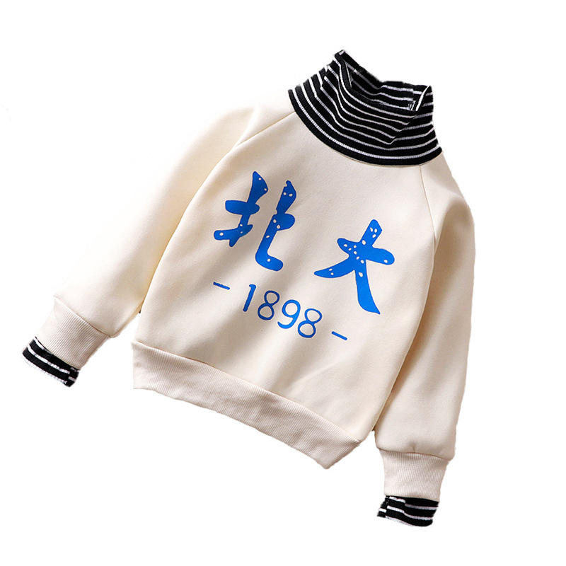 Custom Kid Hoodie Windproof Warmer Children O-neck Sweatshirt For Winter Outdoor