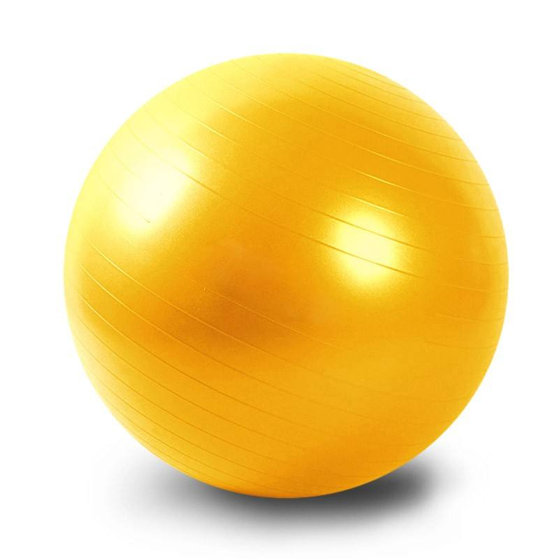 Eco-friendly gymnastics training 65cm gym exercise yoga ball