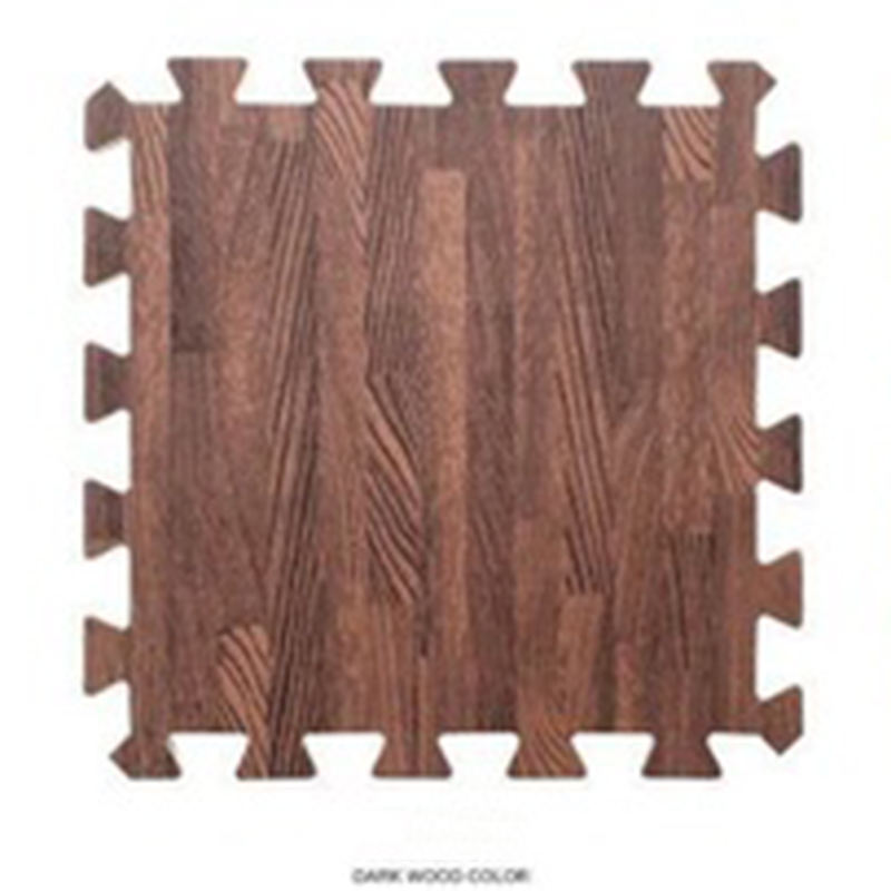 New Mat Design 2020 New Sales Promotion Fashion Non-Toxic Sound Insulation Anti Skid Wood Grain EVA Foam Tatami Puzzle Mat Design For Baby