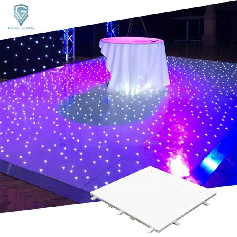 Best Price Ip65 Club Decor Portable Led White Light Dance Floor