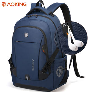 2020 guangzhou Aoking Waterproof Men Business sports school travel Computer Women mochilas 15.6 inch Laptop Bag Backpack