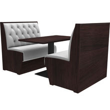 restaurant used chairs and table fast food wood booths sofa seat for sale