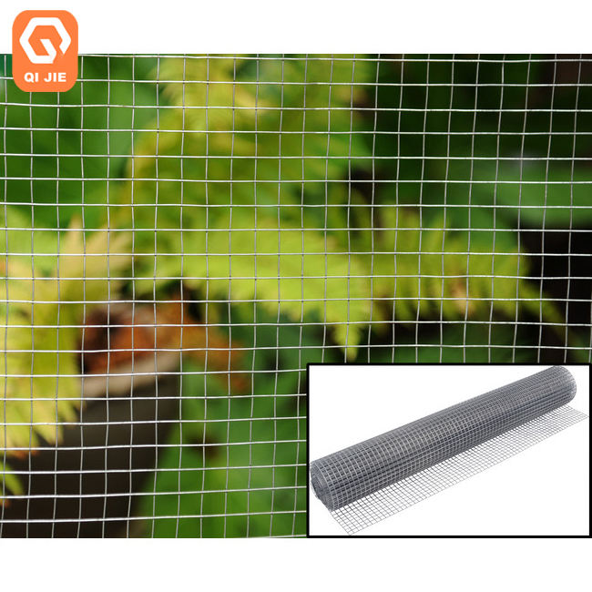 16 gauge black vinyl coated stainless steel galvanized welded wire mesh