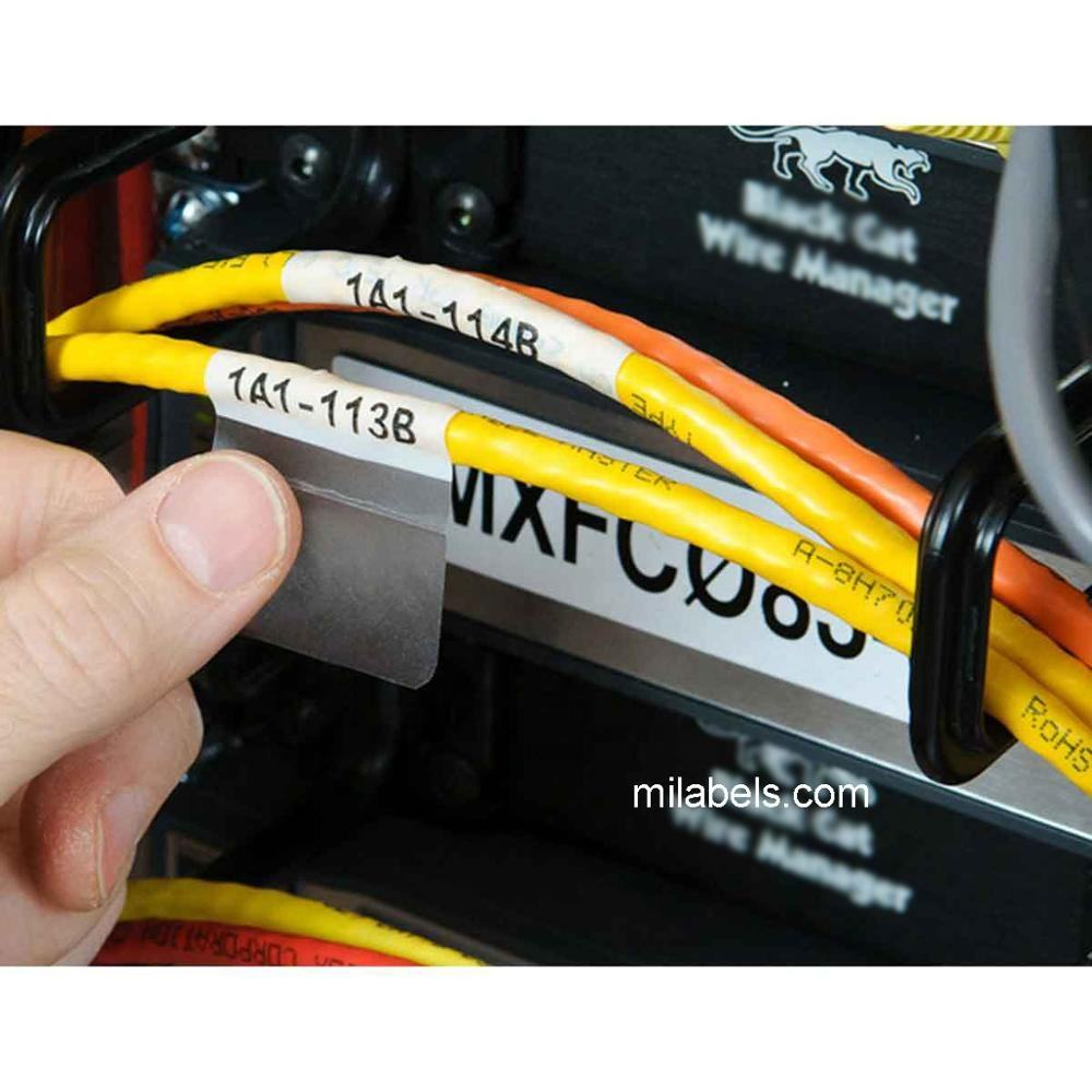 Wholesale A4 Sheet Transparent Wire Cable Label For Identification Cable