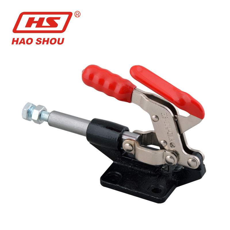 Nonslip Handle Short Bar Metal 91Kg Toggle Clamp Hand Tool