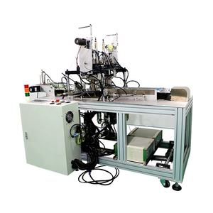 Ultrasonik Topeng Ear-Loop Welding Machine Otomatis