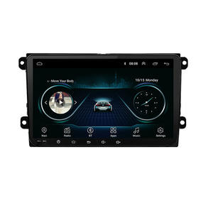Double DIN 9 นิ้ว Autoradio GPS Android Car DVD Player Touch Screen วิทยุรถยนต์สำหรับ VW Passat GOLF