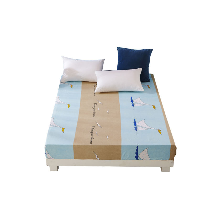 100% Polyester king linen hotel quilt cover wedding 3d printed 200TC luxury bed sheet bedding set on sale