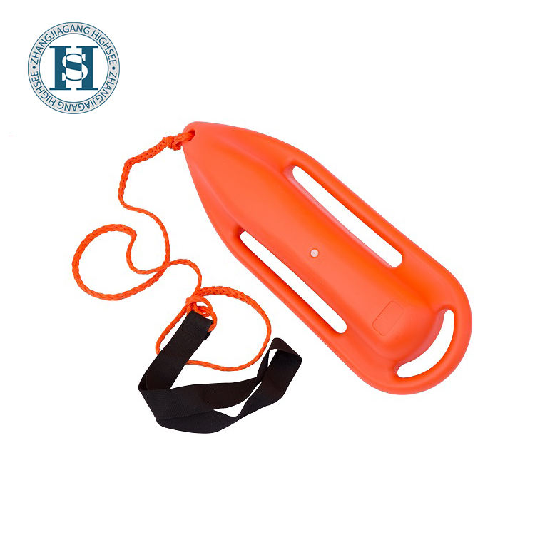 Flotation Device Rescue Torpedo Buoy For Lifeguard Water Drawing