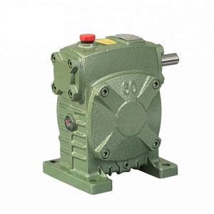 WPS40 size worm reducer gearbox single stage reduction gearbox speed reducer cheap gearbox