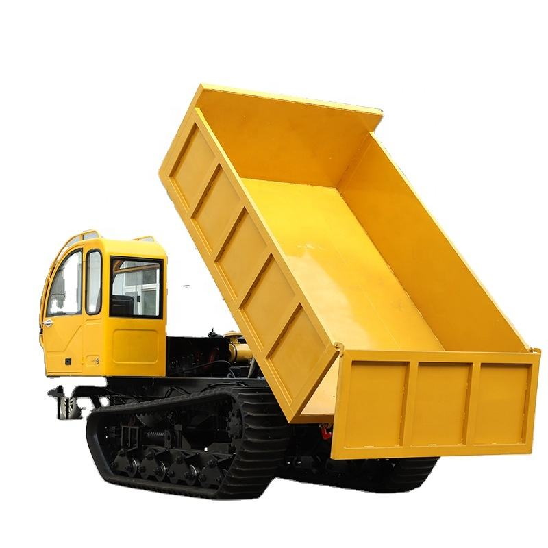 1 ton to 5 ton crawler mini dumper truck with factory price