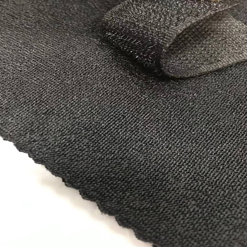 Nylon Magic Loop Hook Terry Knitting Tricot Bonded Laminated SBR Or SCR Or Cr Rubber Car Seat Cover Fabric