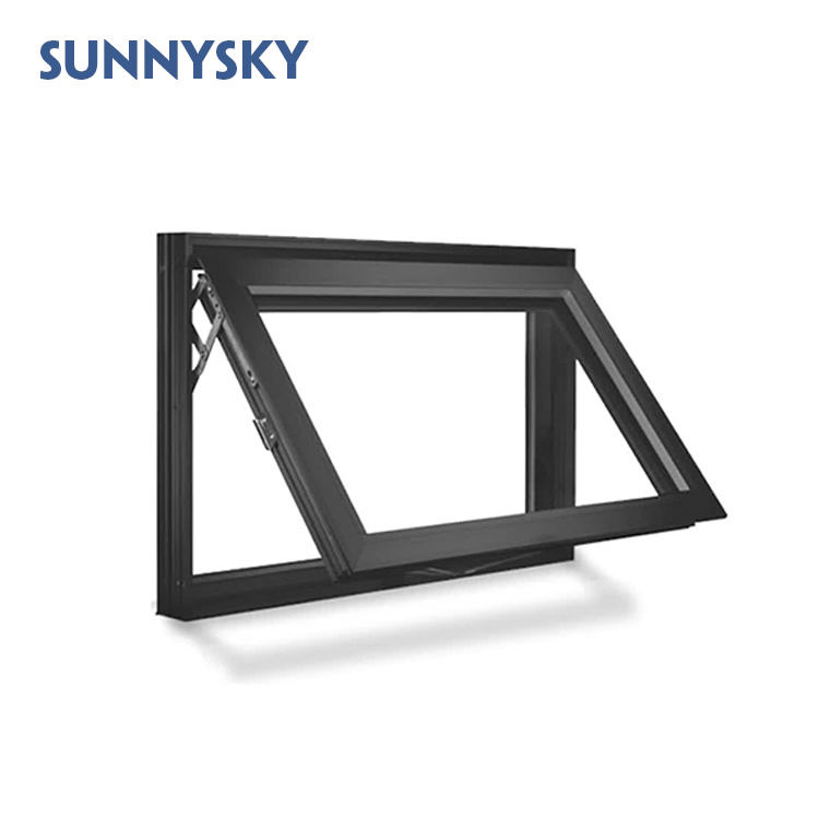 US style casement manufactures residential aluminum awning window for hotel