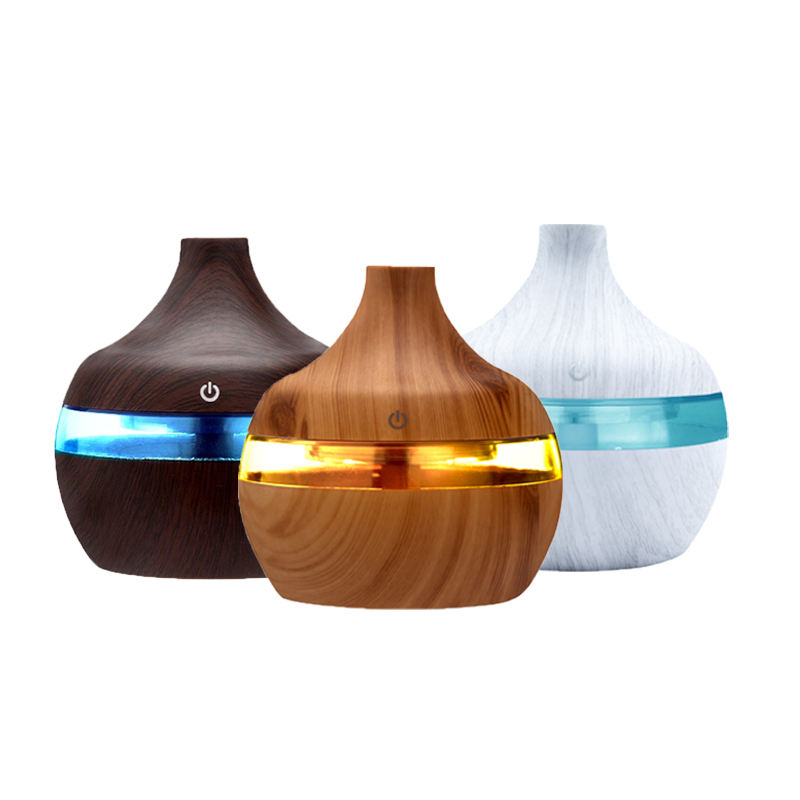 300Ml Essential Oil Aroma Ultrasonic Diffuse Ot Selling 300Ml/500Ml 2 In 1 Humidifier Air Diffuser New Design Purifier Home